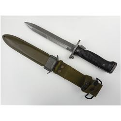 U.S. MILITARY IMPERIAL M5 BAYONET WITH M8A1 SCABBARD