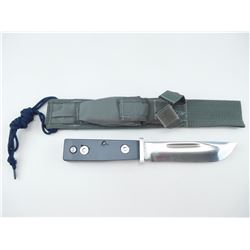 "CATTARAUGAS 225Q MILITARY ""QUARTERMASTER"" KNIFE WITH SHEATH"