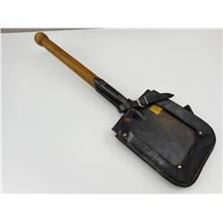POST WAR EAST GERMAN ENTRENCHING TOOL WITH SHEATH