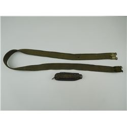 LEE ENFIELD RIFLE SLING & CLASP KNIFE WITH MARLIN SPIKE