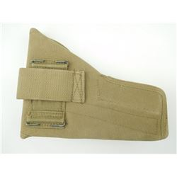 WWII CANADIAN CANVAS HOLSTER FOR INGLIS HI-POWER