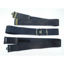 ASSORTED WEB BELTS