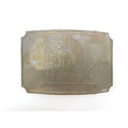 WELLS FARGO & CO BRASS BUCKLE
