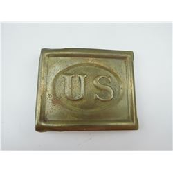 US BRASS ANSON MILLS BUCKLE