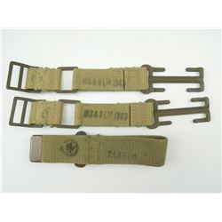 ASSORTED WWII CANADIAN STRAPS