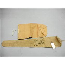 WWII BRITISH LEE ENFIELD RIFLE CASE & BAG