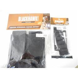 BLACKHAWK TACTICAL DOUBLE MAG POUCH & SHOTSHELL PANEL