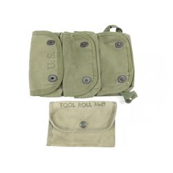 WWII U.S. MILITARY GRENADE & TOOL POUCH