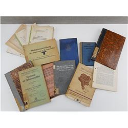 ASSORTED GERMAN BOOKS, ARTICLES/ JOURNALS