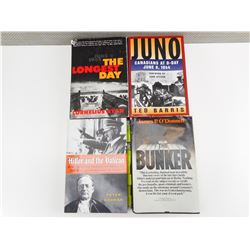 WWII HARDCOVER BOOKS