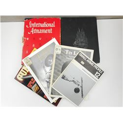 ASSORTED MILITARY UNIFORM & ARMAMENT BOOKS