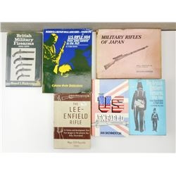 ASSORTED INTERNATIONAL BOOKS ON MILITARY GUNS