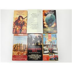 ASSORTED MILITARY AND RELATED VHS MOVIES