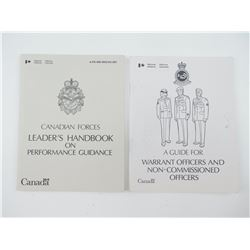 CANADIAN FORCES NCO PERFORMANCE TRAINING GUIDES