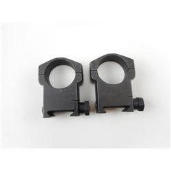 30MM STEEL TACTICAL SCOPE RINGS
