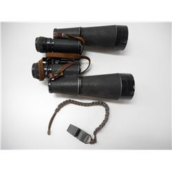 H.V. CLEMENT 16X48 BINOCULARS & WHISTLE WITH LANYARD