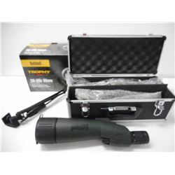 BUSHNELL TROPHY XLT 20-60X SPOTTING SCOPE WITH ACCESSORIES