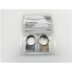 VORTEX HS RING SET 30MM TUBE SIZE HIGH HEIGHT
