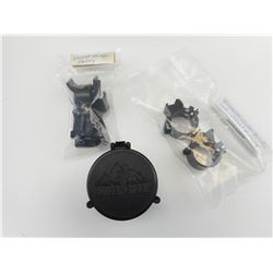ASSORTED SCOPE RINGS & PARTS
