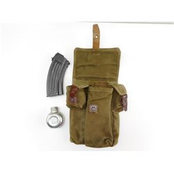 AK-TYPE MAGAZINE WITH POUCH & OILER