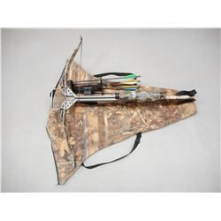 EXCALIBUR EXOMAX CROSSBOW WITH SCOPE, QUIVER, BOLTS & SOFT CASE