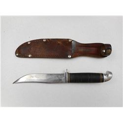U.S. WESTERN BOULDER KNIFE WITH SHEATH