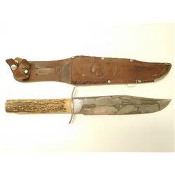 ORIGINAL BOWIE KNIFE WITH SHEATH