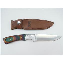 NWTF FIXED BLADE KNIFE & SHEATH