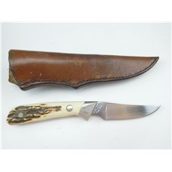 UNCLE HENRY SCHRADE FIXED BLADE KNIFE & SHEATH
