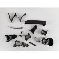 ASSORTED GUN PARTS & SCOPE MOUNTS