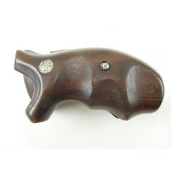 S&W WOODEN HANDGUN GRIPS FOR MODEL 10