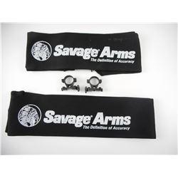 SAVAGE ARMS GUN SOCKS & SCOPE RINGS