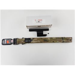 BLACKHAWK INSTRUCTOR'S GUN BELT & KODIAK MNPS ADV. RAIL SYSTEM