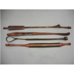 ASSORTED LEATHER RIFLE SLINGS