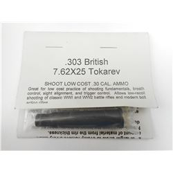 7.62 X 25 TO 303 BRITISH CONVERSION CARTRIDGE