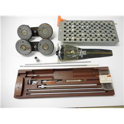 ASSORTED CLEANING & RELOADING EQUIPMENT