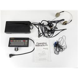 PANASONIC CHARACTER GENERATOR WITH HEADPHONES & MANUAL