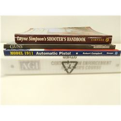 ASSORTED FIREARMS & SHOOTERS BOOKS