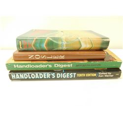 ASSORTED FIREARMS BOOKS & WINCHESTER PATCHES