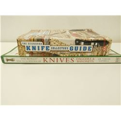 KNIFE COLLECTING BOOKS