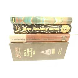 ASSORTED RELOADING BOOKS