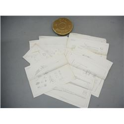 ASSORTED EXPLODED DIAGRAMS AND PLASTIC CIL RIM