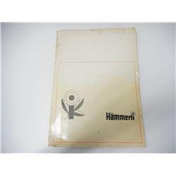 VINTAGE TECHNICAL PORTFOLIO CATALOG OF HAMMERLI GUN