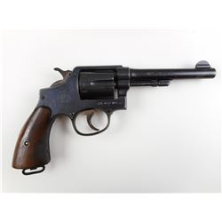 SMITH & WESSON  , MODEL: HAND EJECTOR 38 MILITARY & POLICE MODEL 3 OF 1905 4TH CHANGE  , CALIBER: 38