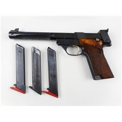 HIGH STANDARD , MODEL: 106 MILITARY AKA SUPERMATIC TROPHY  , CALIBER: 22 LR