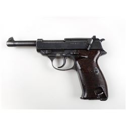 WWII ERA GERMAN MARKED, WALTHER , MODEL: P38 , CALIBER: 9MM LUGER