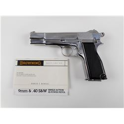 BROWNING  , MODEL: MK 1* HI POWER  , CALIBER: 9MM LUGER