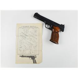 SMITH & WESSON  , MODEL: 41 , CALIBER: 22 LR