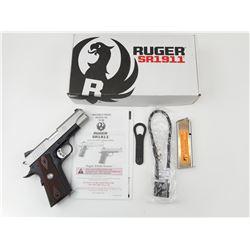 RUGER , MODEL: SR1911 COMMANDER , CALIBER: 45ACP