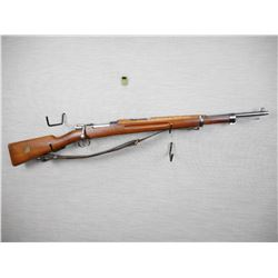 MAUSER  , MODEL: 1938 SHORT RIFLE  , CALIBER: 6.5 X 55 SWEDISH MAUSER